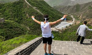 Great Wall Marathon Jasper Delisse 2018 | We R Asia