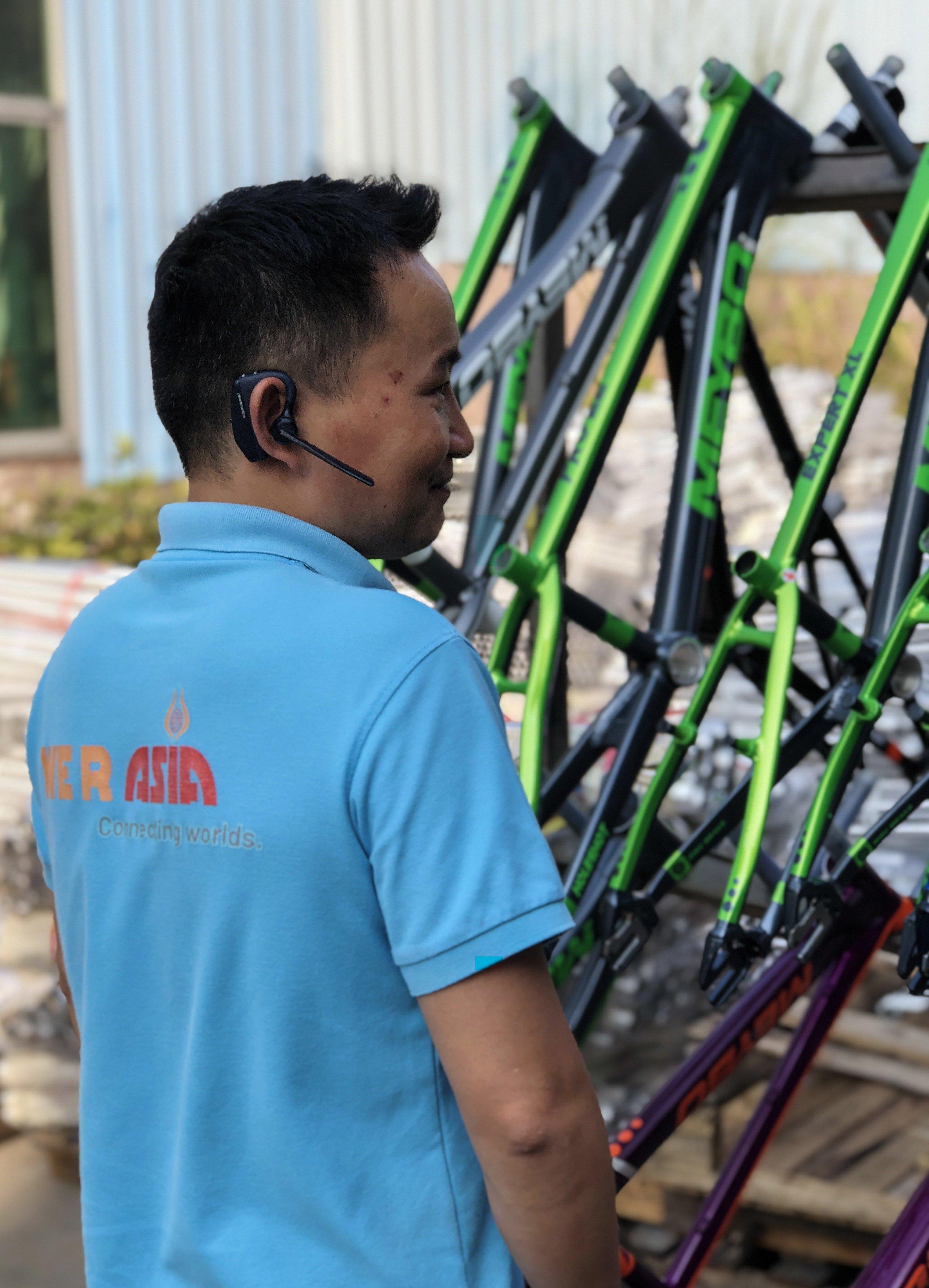 Schumi kwaliteitsinspecteur | We R Asia