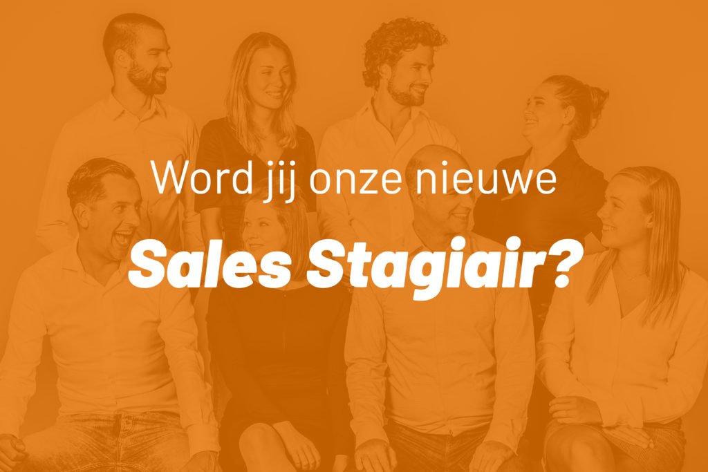 Vacature Sales Stagiair | We R Asia