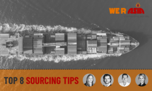 Sourcing tips | We R Asia